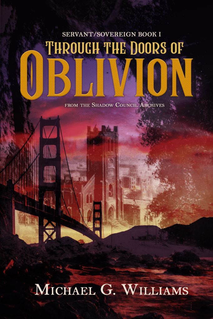 "Cover image for ""Through the Doors of Oblivion,"" SERVANT/SOVEREIGN #1."